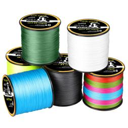 300-1000M Super Strong PE Lines Braided Sea Fishing Line 4/8