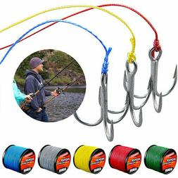 300M/330Yards PE Fishing Line Strong 4 Strands Braided Fish
