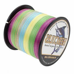 Hercules 6-300lb Weave PE Braided Fishing Line 4 Strands 100