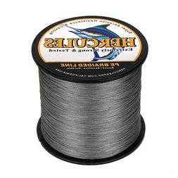 8 Strands Hercules 100% PE Braided Fishing Line 100M 300M 50