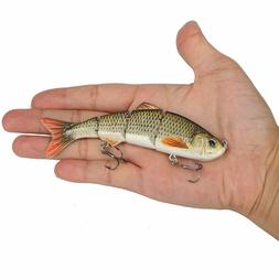 Fishing Lures Swimbait Bass Fish Crankbait Jointed Trout Swi
