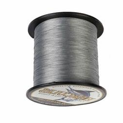Hercules Gray 109-2187yd 6lb-300lb 4 8 Strands Braided Fishi