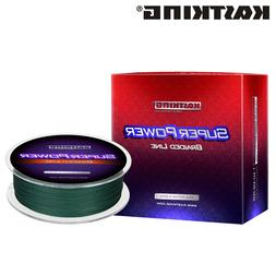 superpower braid fishing line 330 yds various