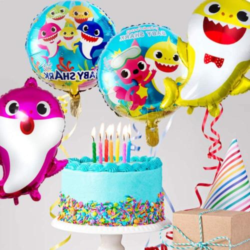 7 pcs Balloons, Cute Party for Baby