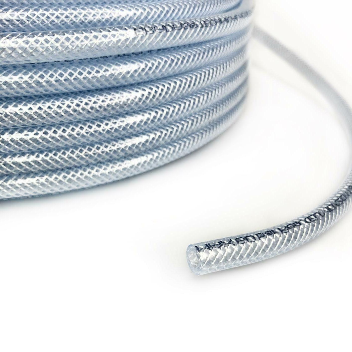 braided clear pvc hose pipe tubing food