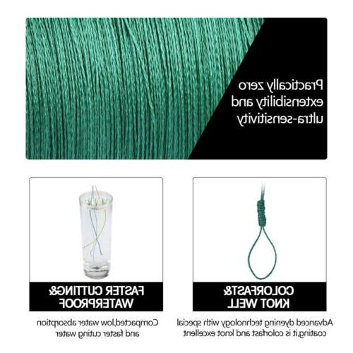 Braided 4 strands 300m/500m/1000m Strong Multifilament