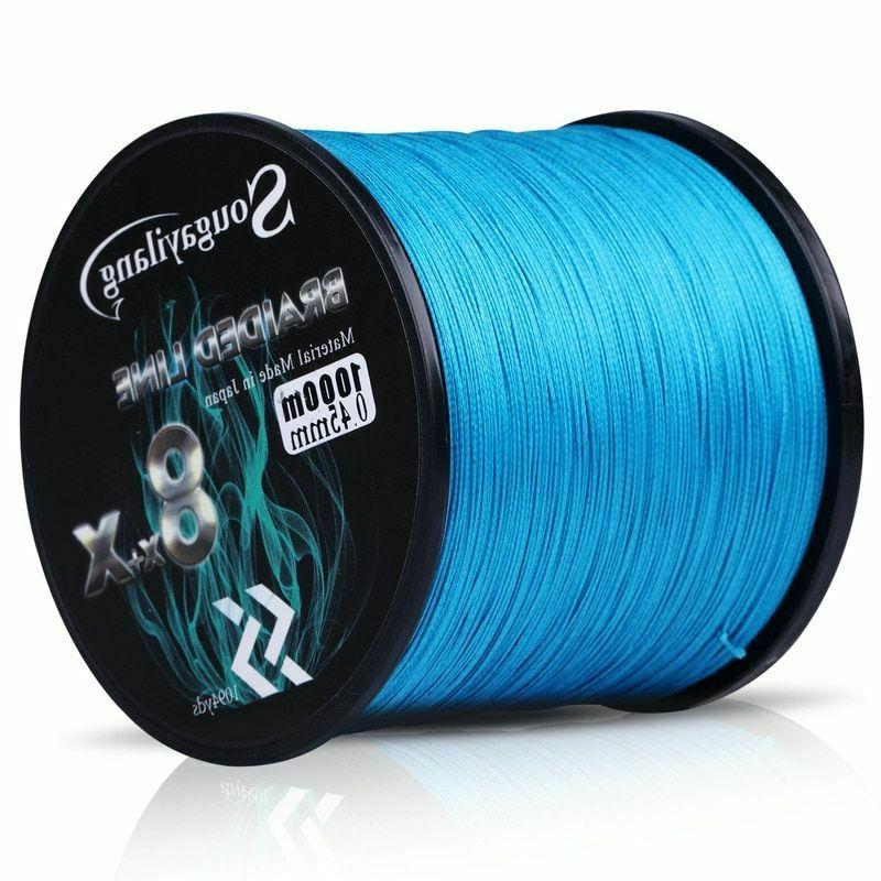 Fishing Line 9 Strands Braided 500M Strong Durable Wire