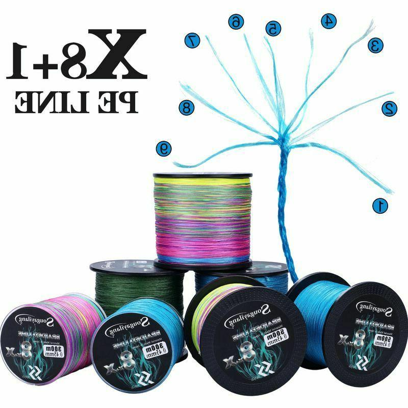Fishing Braided Strong Multifilament Durable Wire