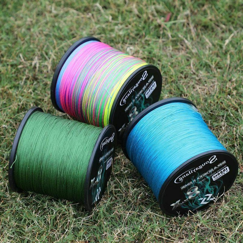 Fishing Line 9 Strands Strong Multifilament Durable