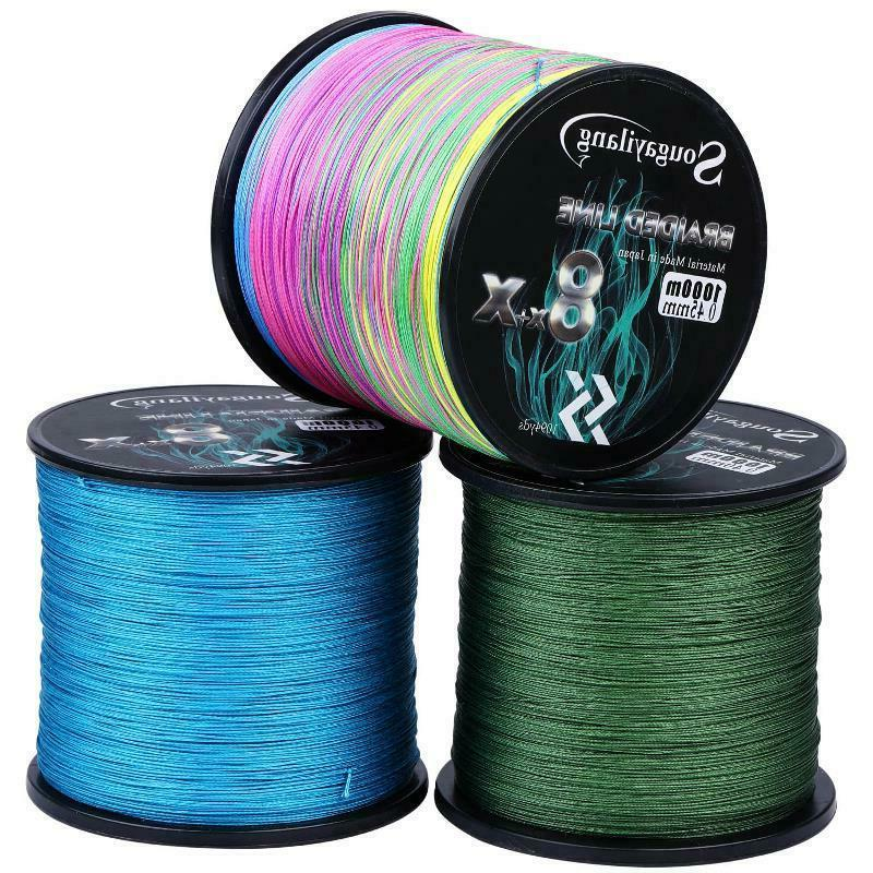 Fishing Braided 300M 500M Strong Multifilament Wire