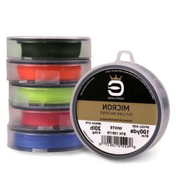 Cortland Micron Fly Line Backing 20 lb 100 yds - ALL COLORS
