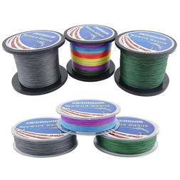 Super Strong Braided Fishing Line 4 Strands Multifilament PE