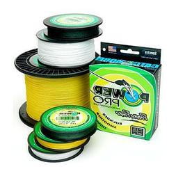 PowerPro Braided Spectra Fiber Fishing Line Hi-Vis Yellow 65