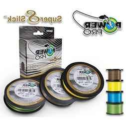 PowerPro Super Slick Braided Line 40lb 150yds Marine Blue
