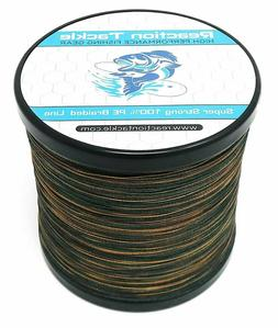 Reaction Tackle High Performance GREEN Camouflage Braided Fi