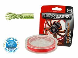 Spiderwire Stealth Smooth 8 Red / 300m / Made in USA