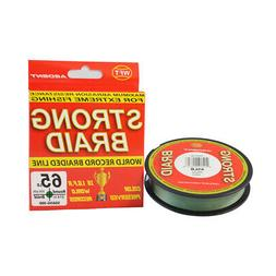 Ardent Strong Braid Fishing Line - Green 65 300 yd