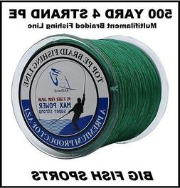 1000M / 50LB Super Strong 4 Strand Pro PE Power Braided Fish