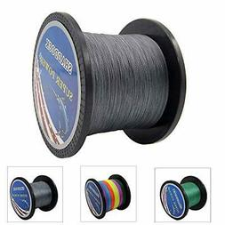 super strong braided fishing line 4 strands